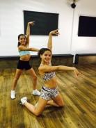 Aline et Roxane
