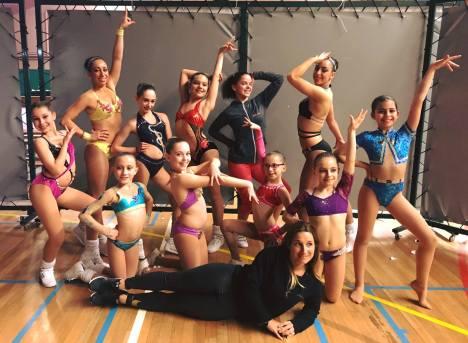 Vanessa Enjolras-Ibanez Coach Team Les Espoirs Aerobic Academy