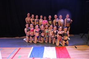 Coralie Jimenez - Coach Team Aerobic de l'Agenais