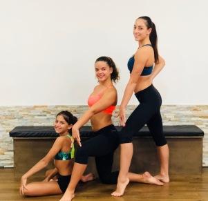 Roxanne, Aline et Justine